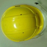 this plastic parts is a helmet